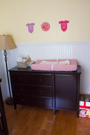 Nursery Tour: Baby Brownie