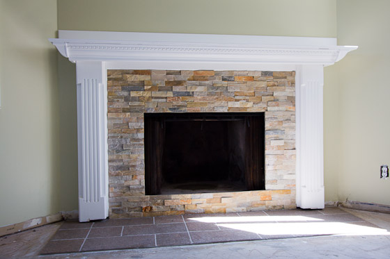 Fireplace Refaced |