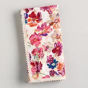 vintage floral napkin