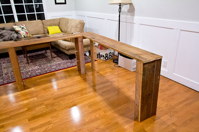 Tremendous Diy Console Table Gmtry Best Dining Table And Chair Ideas Images Gmtryco