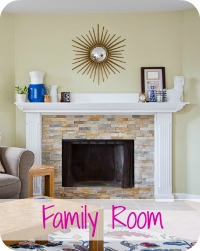 Peek Inside the Family Room
