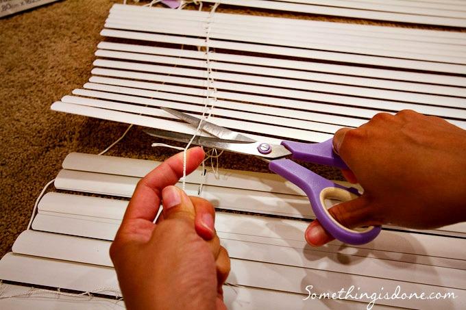 DIY Roman Shade 09