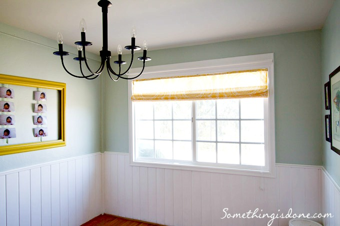 breakfast nook painted