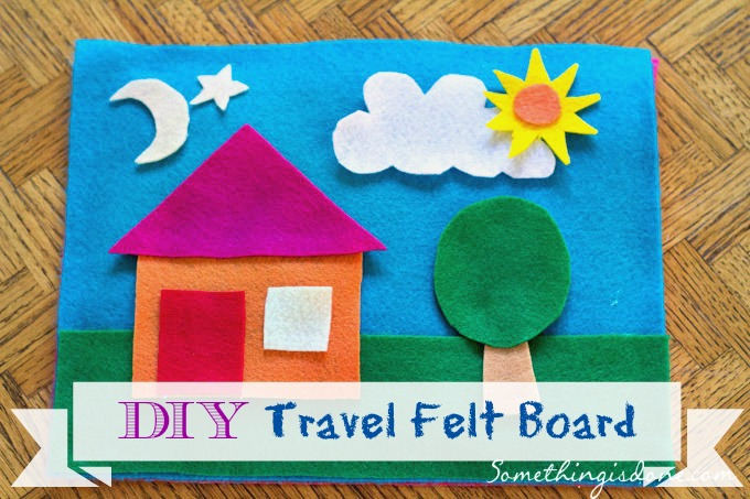 diy travel felt board
