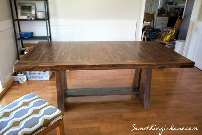 diy dining table 4