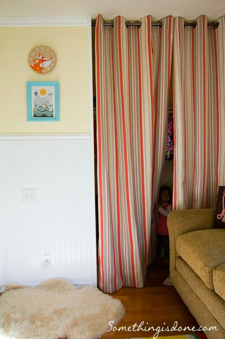 Curtains For A Closet Door