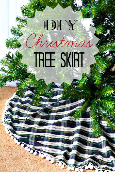 DIY Xmas Tree Skirt