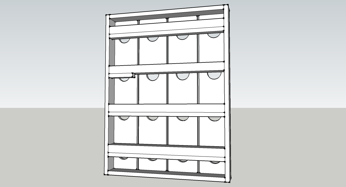 Diy Wine Rack Instructions And Diagrams