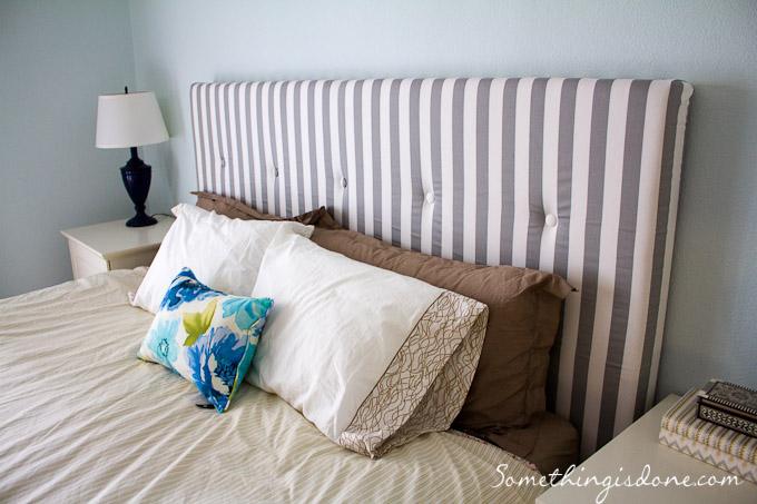 The Fresh Gray Stripes Make Bed Look More Sophisticated And Elegant But Still Fun Which Is Very Important I Had To Take Off Fl Print Pillow