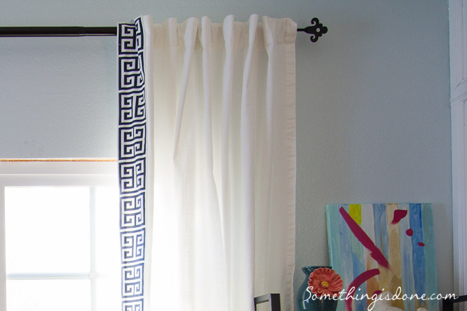 Diy Greek Key Trim Curtains